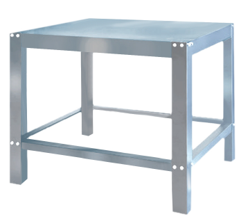 Stainless Steel Stand EP-2-S to suit Black Panther Pizza double deck Oven