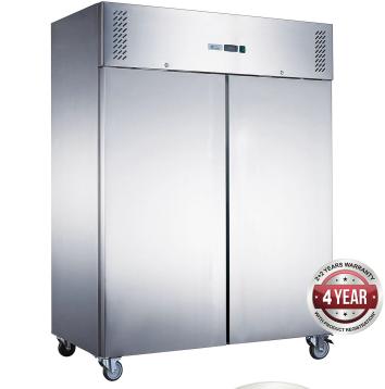 Fed-X  Upright Freezer XURF1200SFV – 2 Solid Door, 1200 Litre