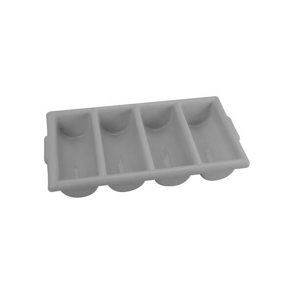 Cutlery Box 4 Compartment – Grey