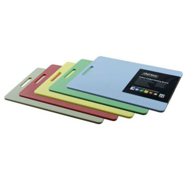 Chef Inox Quality PP Cutting Boards 5pc Set