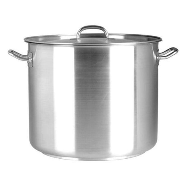 Chef Inox Elite S/Steel Stockpot 10.75Ltr – with lid