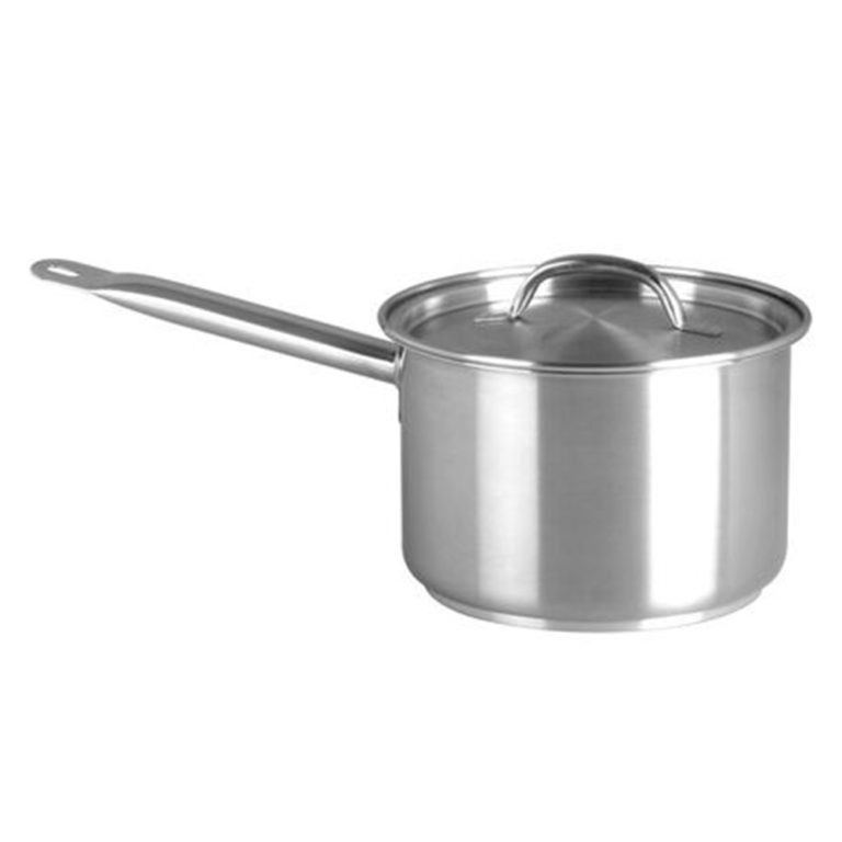 Chef Inox Elite S/Steel Saucepan 1.2Ltr – with lid