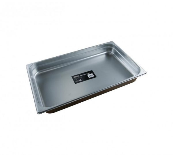 Chef Inox Gastronorm Pan 1/1 65mm – 8.8Ltr