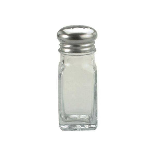 Chef Inox Glass Salt and Pepper Shaker Square 60ml
