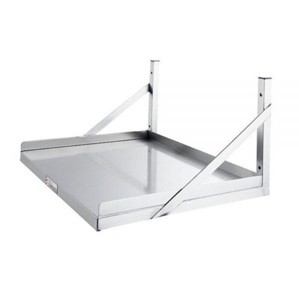 S/Steel Microwave Shelf – 600mm x 580mm