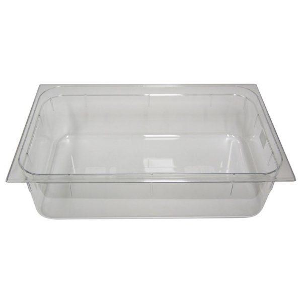 Polycarb PC-11150CL Gastronorm Clear Food Pans 1/1 150mm Deep