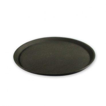 Non-Slip Round Plastic Serving Trays 350mm
