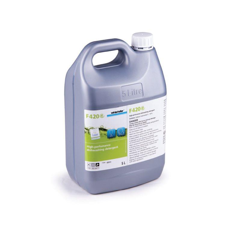 Winterhalter F420 High Performance Dish and Glasswashing Detergent