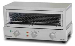 Roband GMX810 Grill Max Toaster (Stainless Steel Elements)