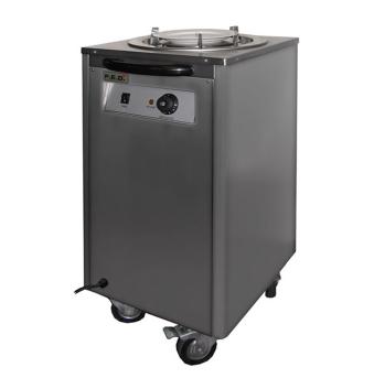 Federal DR-1 Mobile Heated Plate Warmer – Single Tube Dispensor