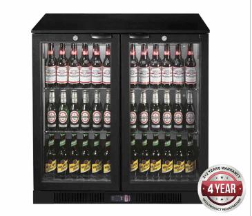 Thermaster LG-330HC Bar Fridge (Low – Underbench unit) 3 Doors