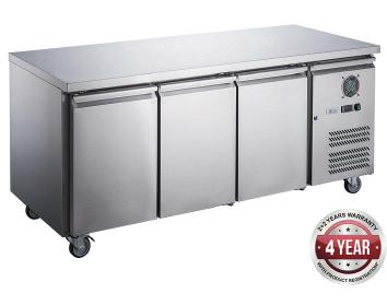 Fed-X Under-Counter Freezer XUB7F18S3V (Three Door)
