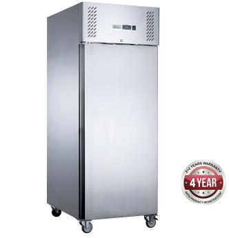 Fed-X  Upright Fridge XURC400SFV – 1 Solid Door, 429 Litre