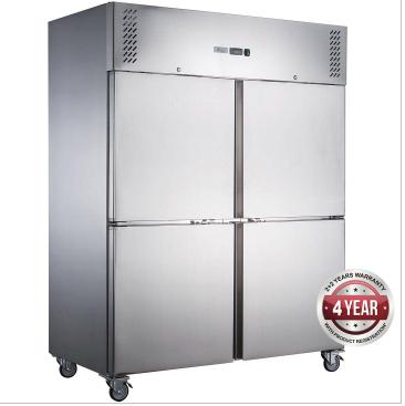 Fed-X  Upright Freezer XURF1410S2V – Split Door, 1410 Litre