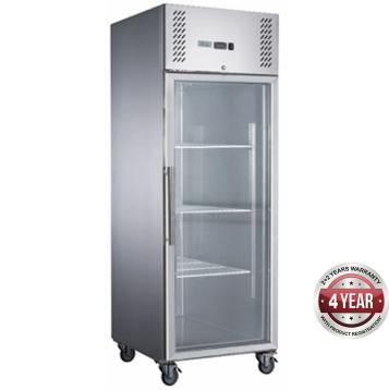 Fed-X  Upright Freezer XURF600G1V – Glass Door, 600 Litre