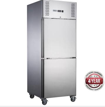 Fed-X  Upright Freezer XURF600S1V – Split Door, 600 Litre