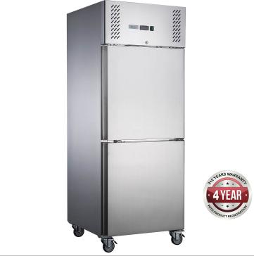 Fed-X  Upright Freezer XURF650S1V – Split Door, 650 Litre